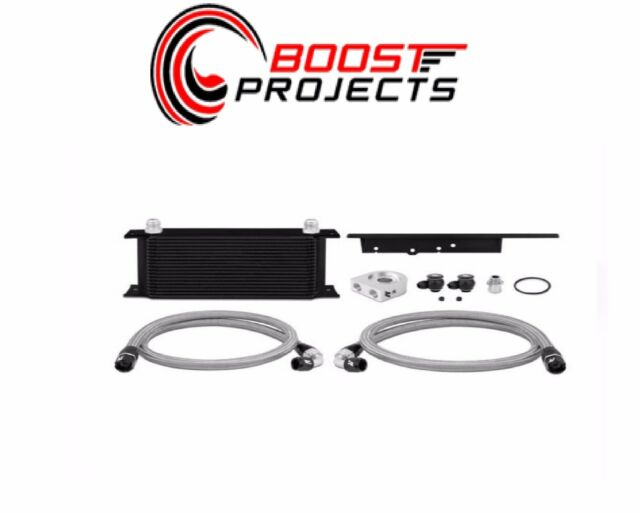 Mishimoto Oil Cooler Kit-Black for 2003-2009 350Z & 2003
