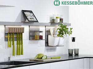 kitchen rail system art ideas kessebohmer mosaiq railing bar 600 1500 das bild wird geladen kesseboehmer gelaender kueche schiene