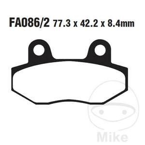 EBC HH Sintered Rear Brake Pads FA086/2HH Hyosung GT 650 R