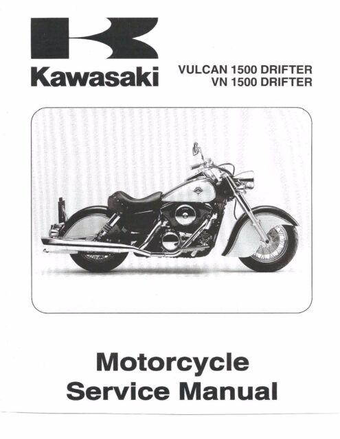 Kawasaki service manual 2001 VN1500-R1, Vulcan 1500