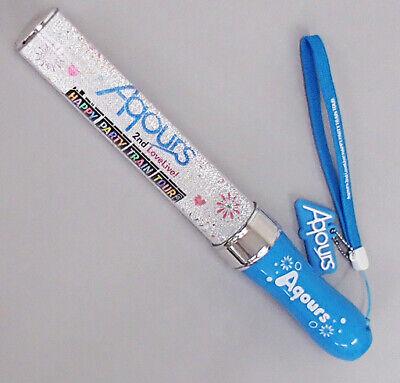 Love Live Sunshine! Aqours 2nd Tour HAPPY PARTY TRAIN Pen Light Stick blue  Used | eBay