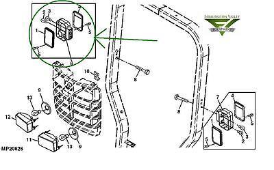 John Deere 3720 4105 4200 4300 4400 4500 Complete RH Tail