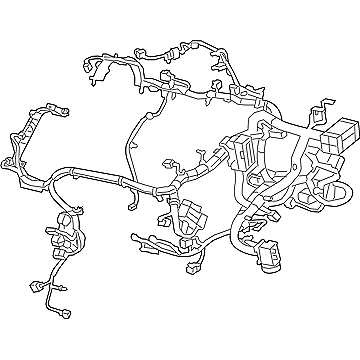 NEW GENUINE MOPAR ENGINE WIRE HARNESS FOR 2015 JEEP
