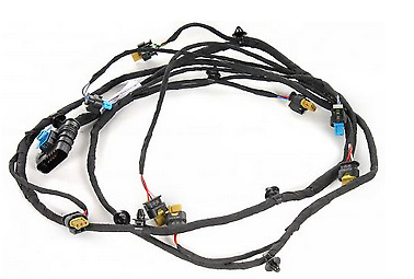NEW MB SLK R172 FRONT BUMPER ELECTRICAL WIRING HARNESS
