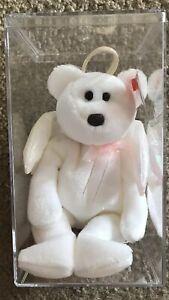 Halo Ty Beanie Baby : beanie, Angel, Beanie, Brown, (ERROR), Collector
