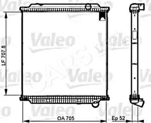 VALEO Engine Cooling Radiator Fits RENAULT TRUCKS Premium