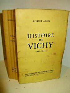 Robert Aron Histoire De Vichy : robert, histoire, vichy, ROBERT, HISTOIRE, VICHY, 1940-44, EX./Alfa, DARLAN, LAVAL