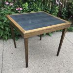 Cosco Dorel Industries Square Vinyl Top Folding Dining Or Card Table For Sale Online Ebay