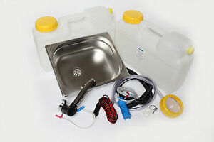 Wow Mini Cucina Campeggio Blocco Kit Lavello 325x265x100mm London Azione  eBay