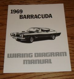 1969 plymouth barracuda wiring diagram manual 69 [ 1600 x 1571 Pixel ]