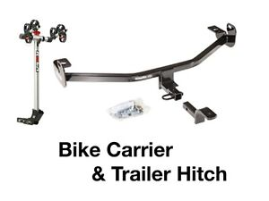 Complete (2)Bike Rack carrier & Trailer Hitch (2012-2017