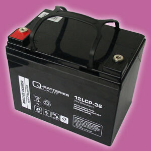 36 volt aussenborder modine pd 75 wiring diagram blei agm akku 12v 36ah plus ladegerat im set fur das bild wird geladen ladegeraet