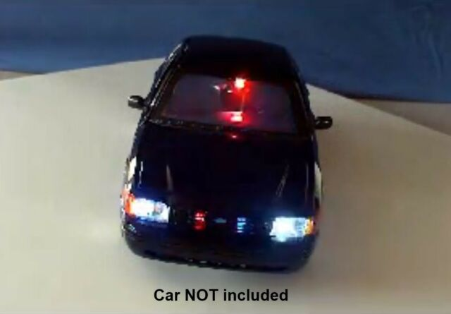 diecast police led lights
