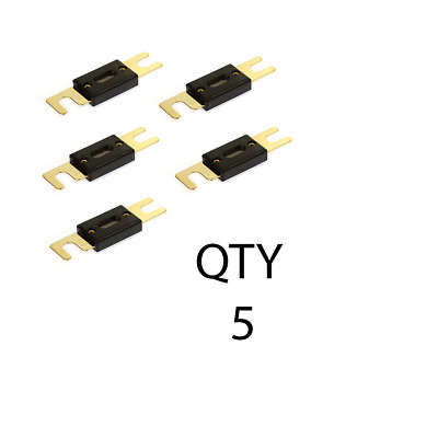 QTY 5 300 Amp ANL Inline Fuse by Voodoo Car Audio For Fuse