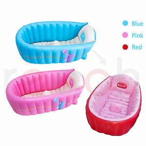 Summer Portable BabyKidToddler Inflatable Bathtub
