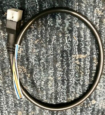 western fisher snow plow 6 pin controller cable assy w/ plug joystick  unimount  ebay