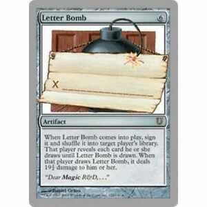 letter bomb # 21