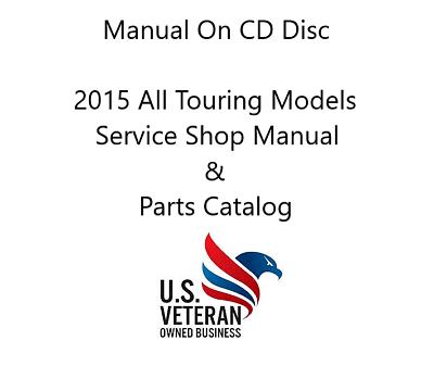 CD Manual For Harley Davidson 2015 Touring Models & Parts