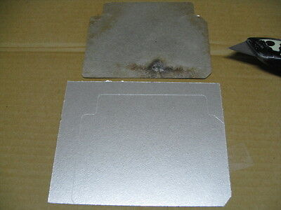 1 easy 2 fix cut to fit universal microwave waveguide cover 4 arcing sparking sm ebay