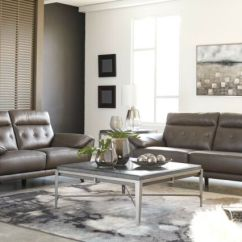 Ashley Leather Sofas And Loveseats Furniture Lifts For Sofa Sissoko Loveseat Ebay