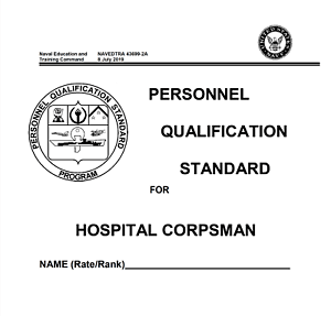 1,311 Page Navy Corpsman PQS SICK CALL SCREENER COURSE