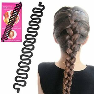 French Plait Hair Braiding Tool Professional Looking