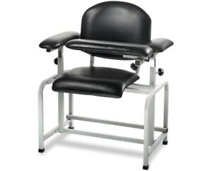 blood draw chair accent chairs canada adirmed black padded drawing 819598020310 ebay image is loading
