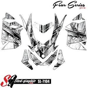 WRAP GRAPHICS FOR SKI-DOO XP MXZ RENEGADE SUMMIT 2008-2013