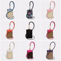 Coach ID Holder Case Lanyard Necklace Canvas Signature ...
