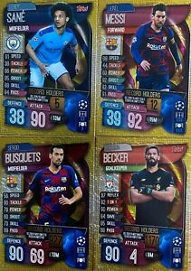 Topps MATCH ATTAX UEFA Champions League 2019/2020 RECORD ...