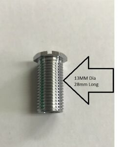kitchen sink strainers target storage threaded screw bolt for strainer waste 13mm dia ebay image is loading