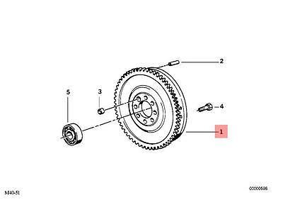 Genuine BMW E36 E38 E39 E46 X5 E53 Z3 Twin Mass Flywheel