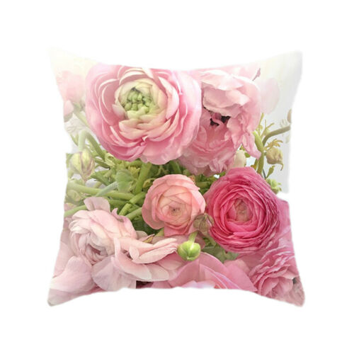 country rose flower throw waist pillow case cushion cover home sofa decor g home decor home decor pillows