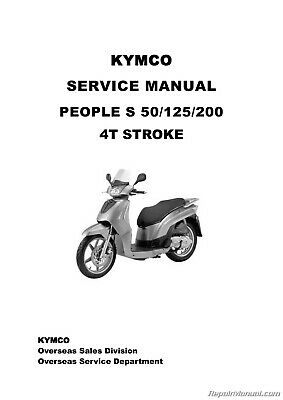 KYMCO People S Scooter Service Manual Printed by