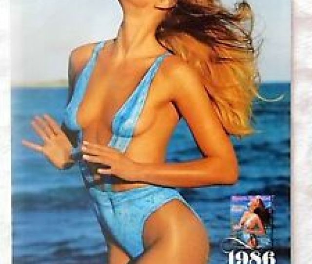 Image Is Loading  Magazine Page Photo Ad Anne V Swimsuit