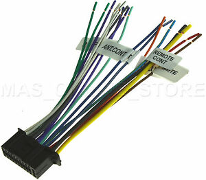 22PIN WIRE HARNESS FOR KENWOOD DDX 514 DDX514 PAY TODAY SHIPS