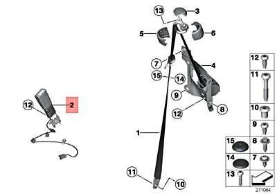 Genuine MINI Cooper JCW One R55 R56 R57 R58 Belt Tensioner
