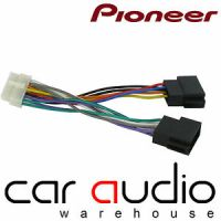 Pioneer 14 Pin ISO Head Unit Replacement Car Stereo Wiring ...