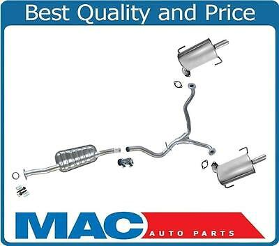for 06 09 legacy 2 5l non turbo dual muffler pipe exhaust system new ebay