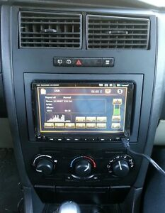 Dodge Charger Factory Radio Navigation GPS Double Din