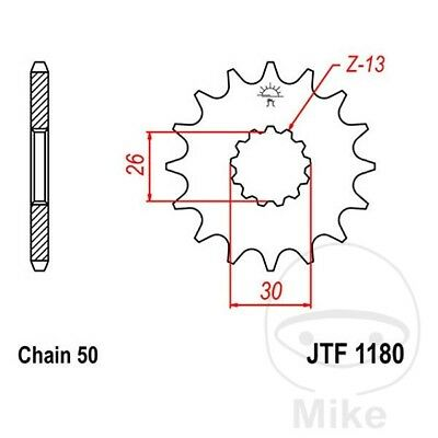 JT Front Sprocket 19T 530 Pitch JTF1180.19 Triumph Speed