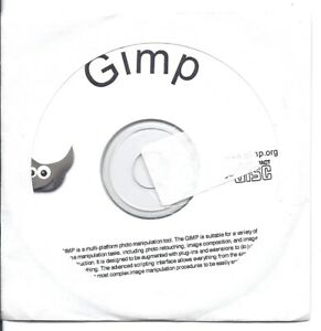 GIMP (Professional Photo and Image Editing Software) CD