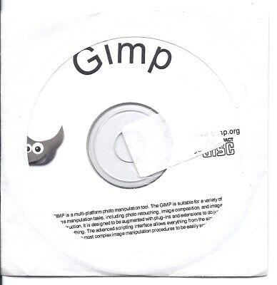 GIMP (Professional Photo and Image Editing Software) CD