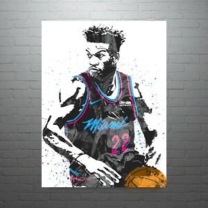 details about jimmy butler miami vice heat poster free us shipping