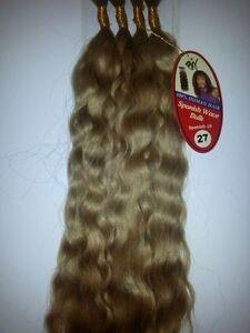 100 human hair spanish wave bulk 18 beverly johnson wavy braiding women ebay