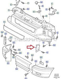 FRONT PANEL / BUMPER BRACKET FOR FORD TRANSIT MK6 2000