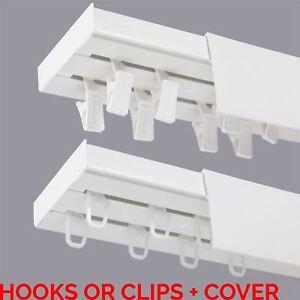 double curtain rail track pcv ceiling