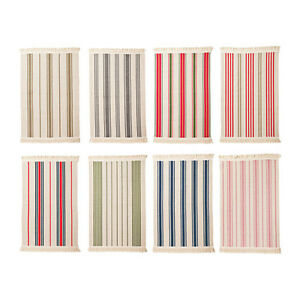ikea kitchen rugs decorating cabinets signe flatwoven area rug striped entry washable 100 image is loading