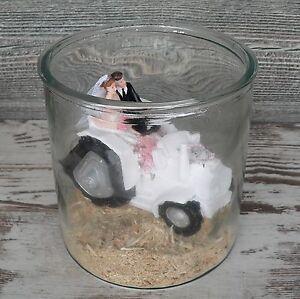 groes Glas fr Geldgeschenk Hochzeit Geburtstag Verpackung Windlicht Vase Deko  eBay