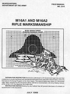 M16A1 & M16A2 Rifle Marksmanship Field Manual 1989 ON CD